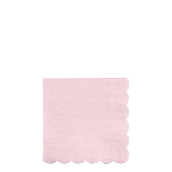 Dusty Pink Small Napkins - Whoot Party Boutique