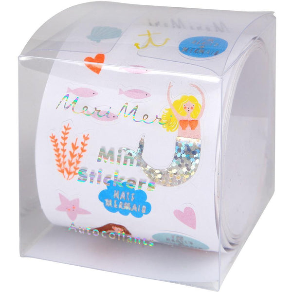 Mini Mermaid Sticker Roll - Whoot Party Boutique