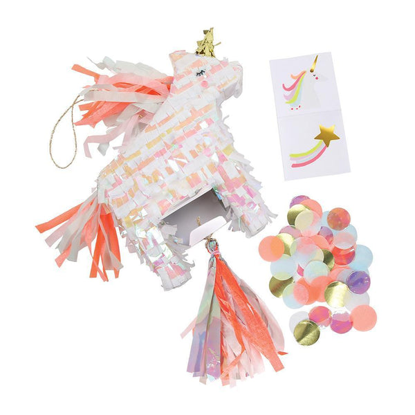 Mini Unicorn Piñata Favor - Whoot Party Boutique