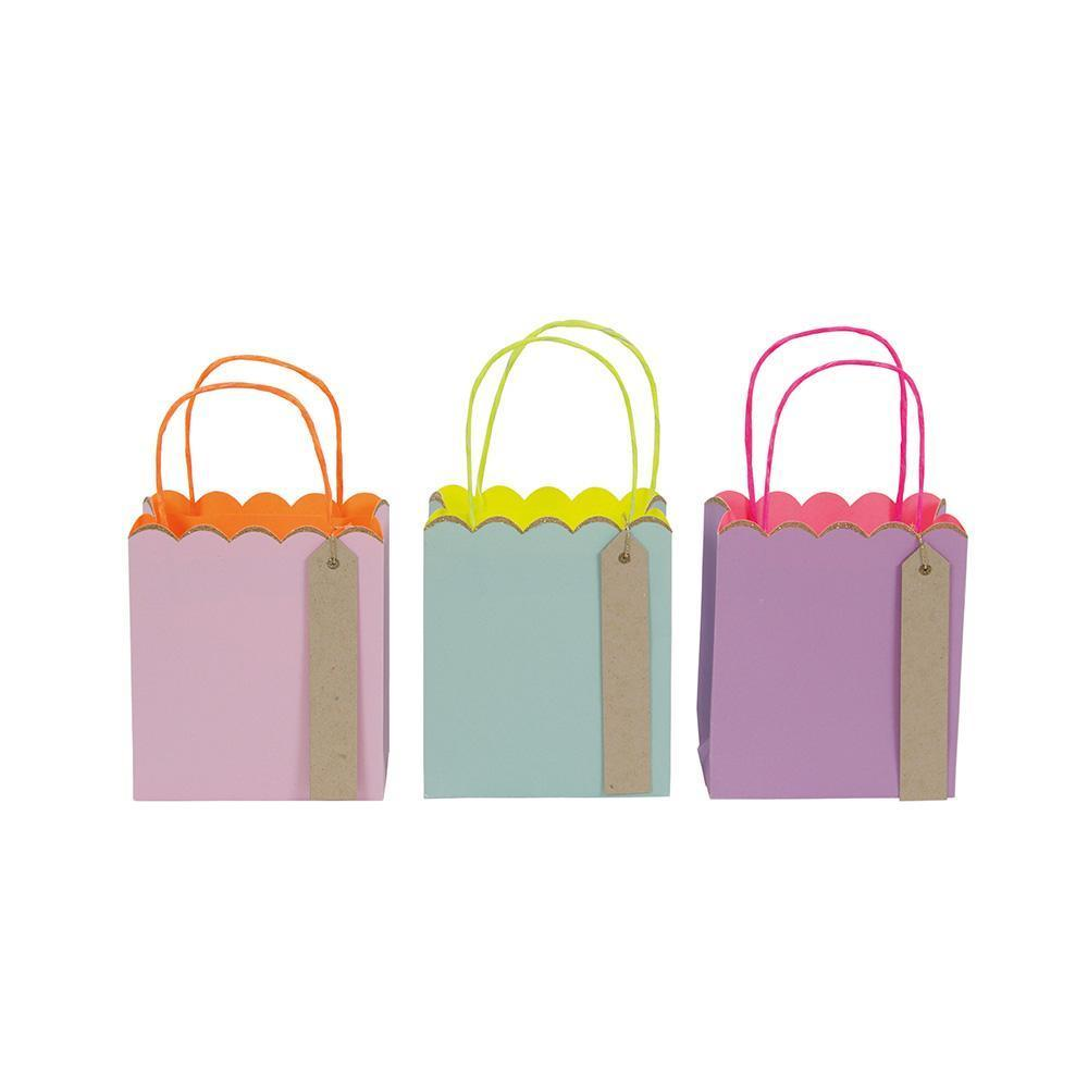 Pastel & Neon Gift Bags (small) - Whoot Party Boutique