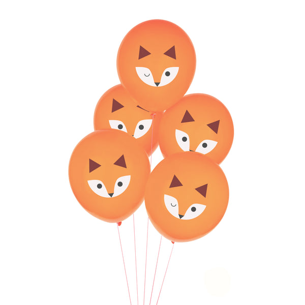 Mini Fox Balloons - Whoot Party Boutique