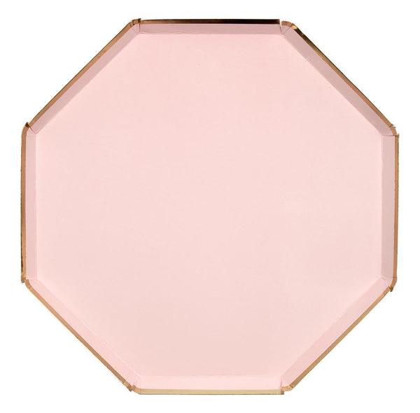 Dusty Pink Dinner Plates - Whoot Party Boutique
