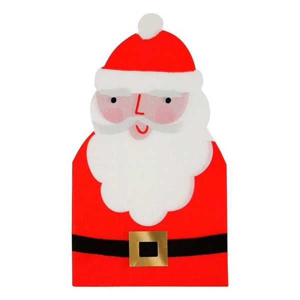 Santa Napkin - Whoot Party Boutique