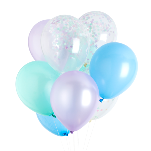 Mermaid Classic Balloons - Whoot Party Boutique