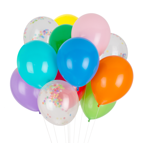 Rainbow Classic Balloons - Whoot Party Boutique