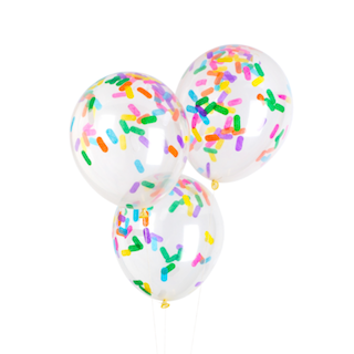 Sprinkle Confetti Balloon - Whoot Party Boutique