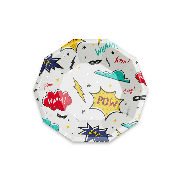 Superhero Small Plates - Whoot Party Boutique
