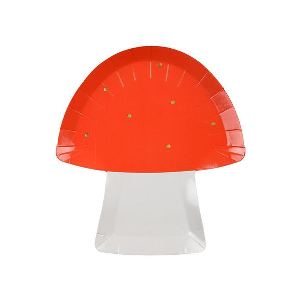 Toadstool Plates - Whoot Party Boutique
