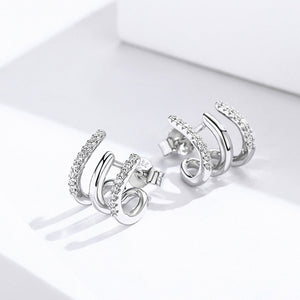 April Triple Hoop Earrings - Belli-Belle
