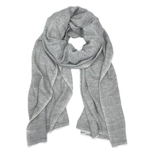 Load image into Gallery viewer, Mary Gray Herringbone Cashmere Scarf - Belli-Belle