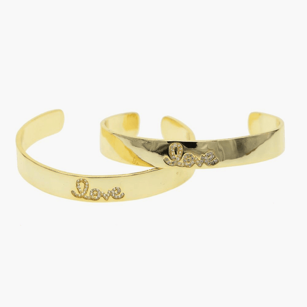Love Cuff Bracelet - BELLI~BELLE Boutique
