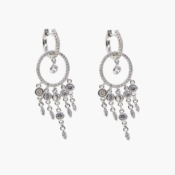 Max  Mini Chandelier Earrings - Belli-Belle
