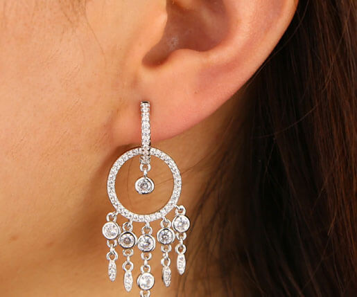 Max | Mini Chandelier Earrings - Belli-Belle