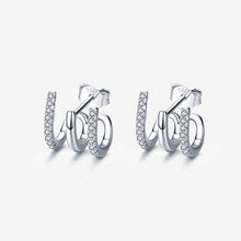 Load image into Gallery viewer, April Triple Hoop Earrings - Belli-Belle