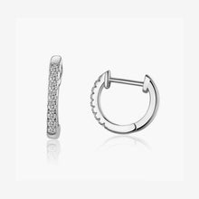 Load image into Gallery viewer, Primla Micro Pave Huggie Hoop - Belli-Belle
