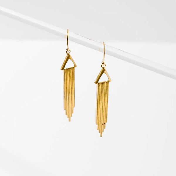 Leonie | Raining Bars Earrings - BELLI~BELLE Boutique