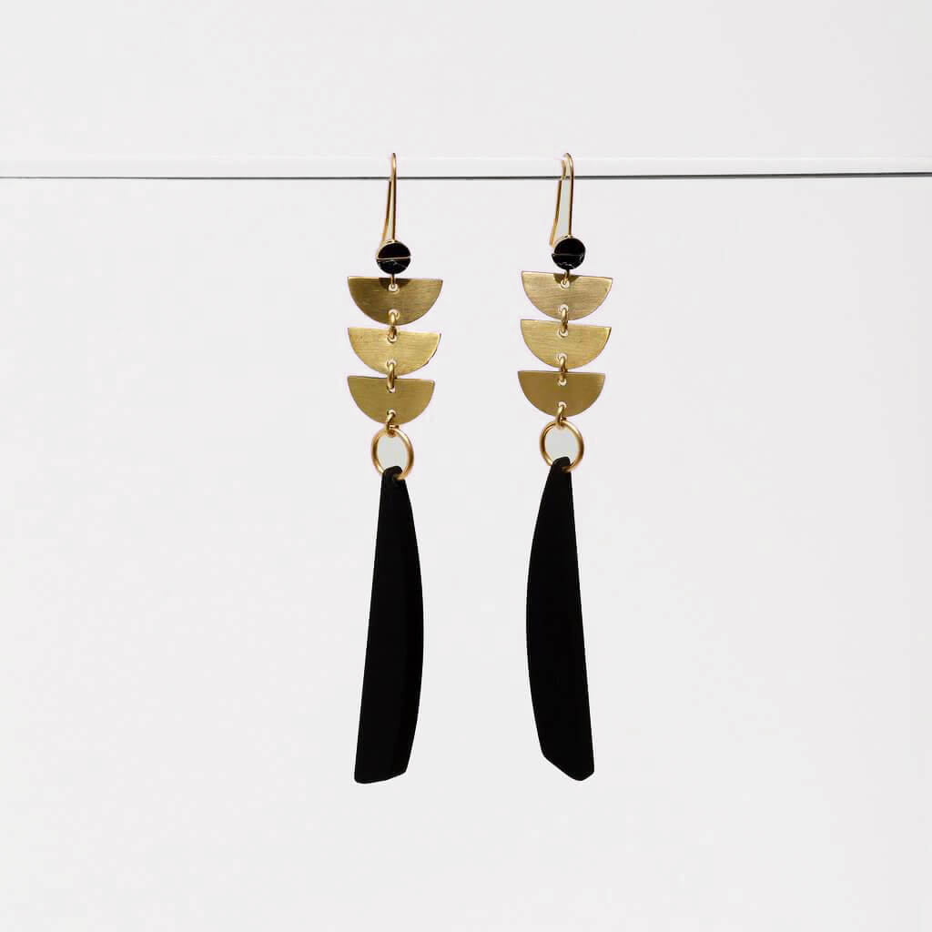 Sylvia Avant Art Earrings - Belli-Belle