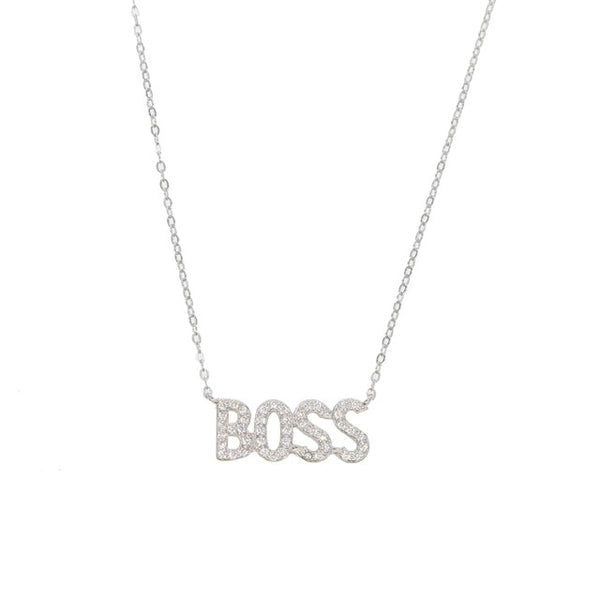 Vonetta |  BOSS necklace (Limited Quantities) - Belli-Belle