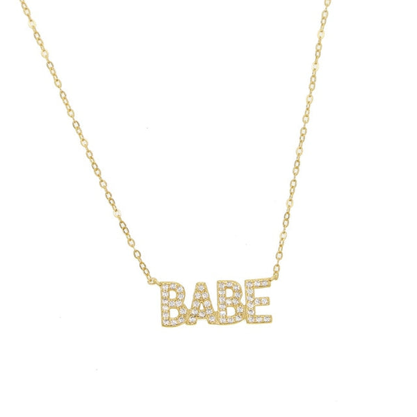Madeline |  BABE necklace (Limited Quantities) - Belli-Belle