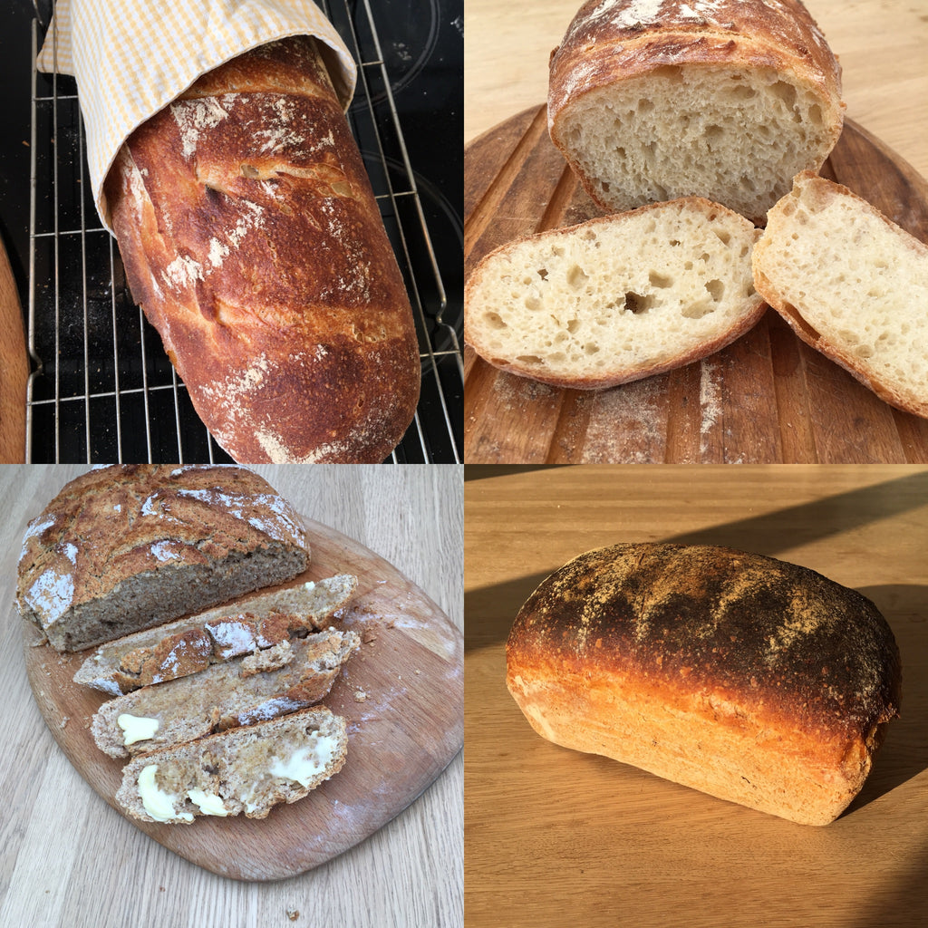Organic LARGE loaf selection - Sole Bay Sourdough