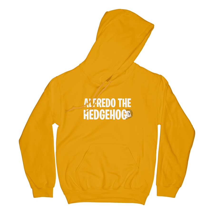 ALFREDO THE HEDGEHOG HOODIE (GOLD)
