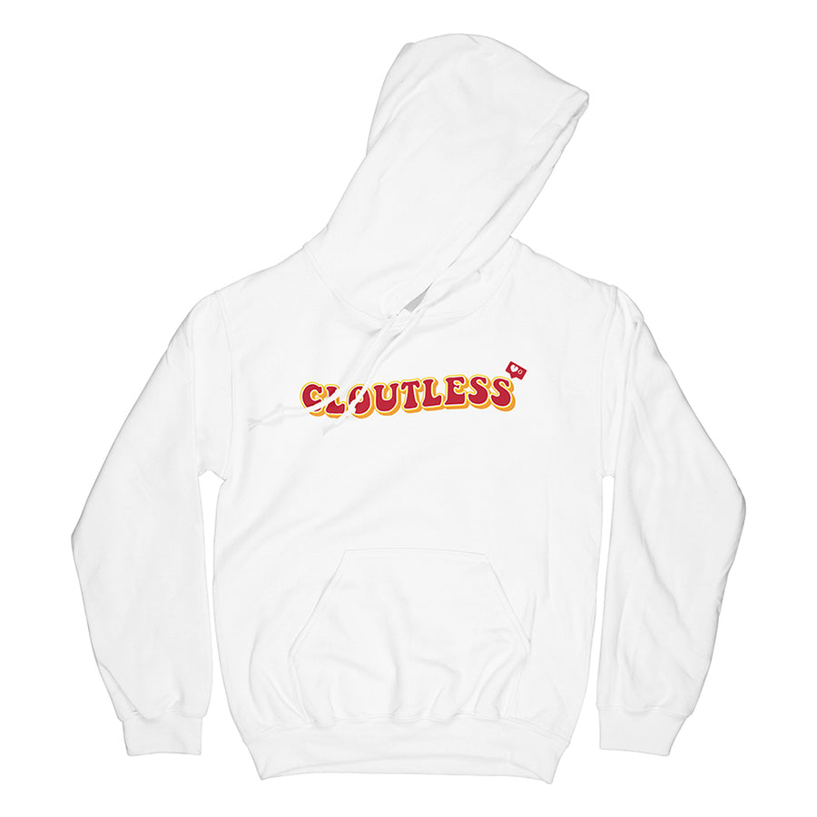 CLOUTLESS HOODIE (WHITE)