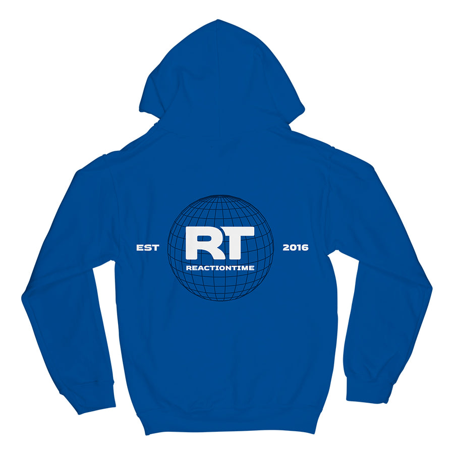RT GLOBAL HOODIE (ROYAL BLUE)