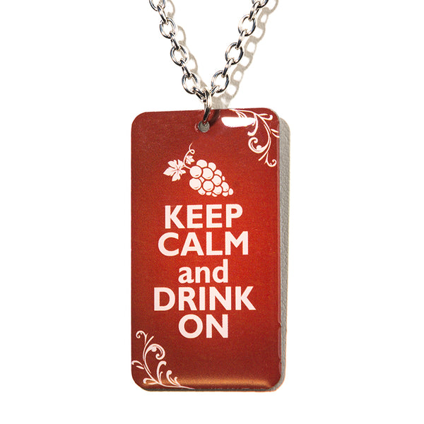 Keep Calm Necklace - Cheeryos Jewelry