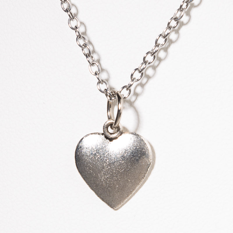 Heart Charm Necklace - Cheeryos Jewelry