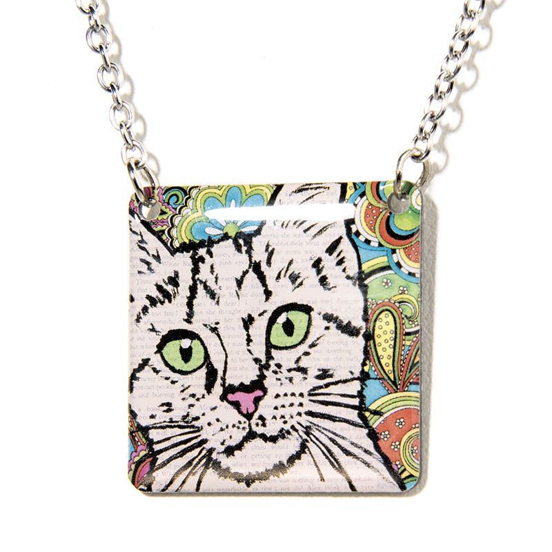 Paisley Kitty Cat - Cheeryos Jewelry