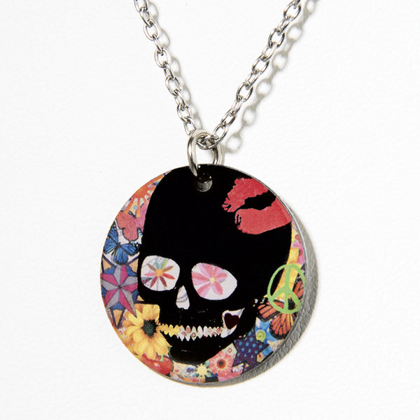 Sweet Skull Necklace - Cheeryos Jewelry