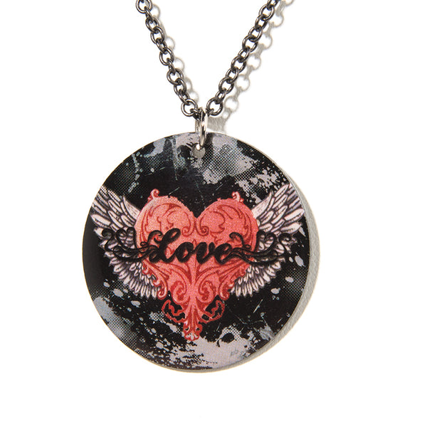 Wings of Love Necklace - Cheeryos Jewelry