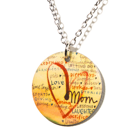Tribute to Mom Necklace