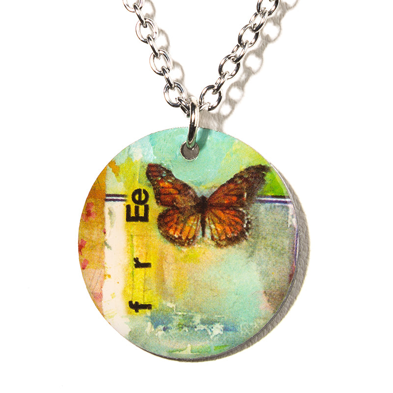 Monarch Necklace - Cheeryos Jewelry