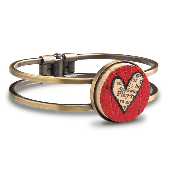 Love Wine Cork Bracelet - Cheeryos Jewelry