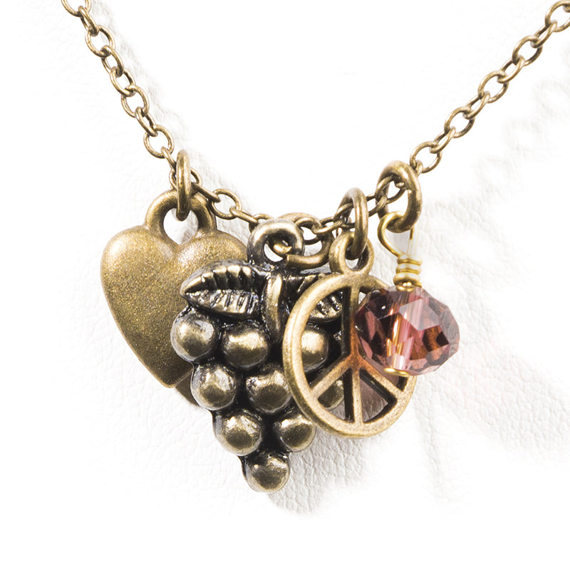 Vintner Necklace - Cheeryos Jewelry