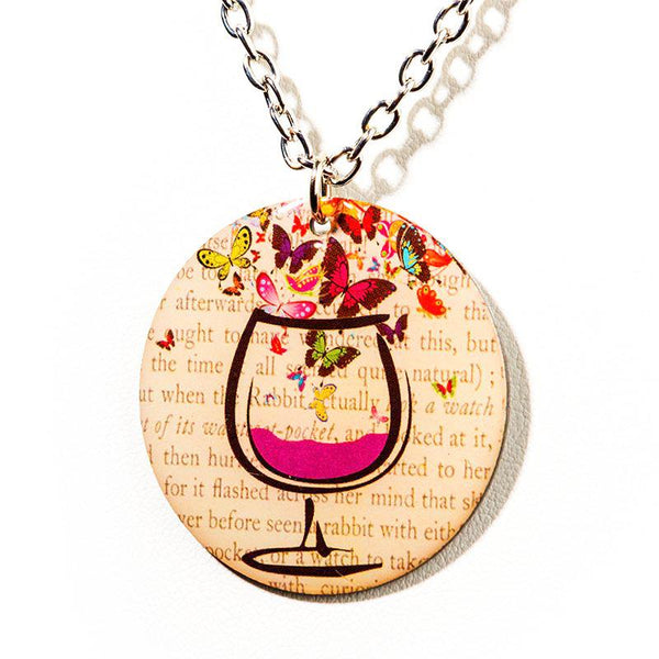 Wine Escape Necklace - Cheeryos Jewelry