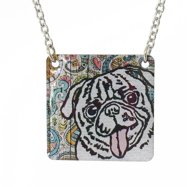 Paisley Pug - Cheeryos Jewelry
