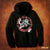 Crazy Lixx - Crazy Lixx Badge - Black Zip Hoodie