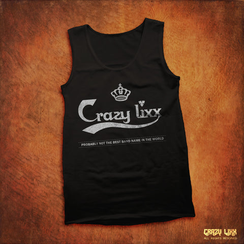 Crazy Lixx Beer Logo - Black Tank Top