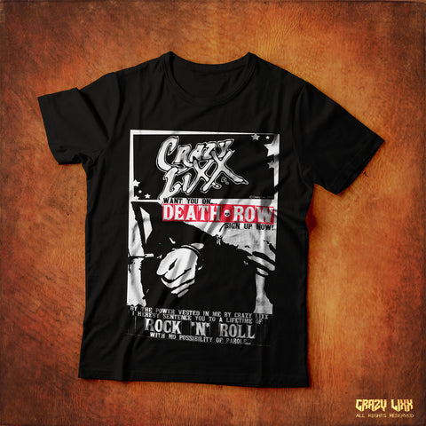 Death Row - Black T-shirt