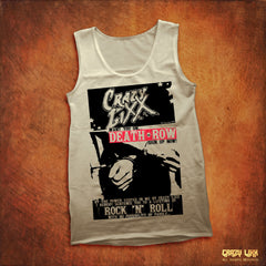 Crazy Lixx - Death Row - White Tank Top