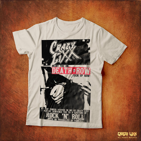 Death Row - White T-shirt