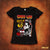 Crazy Lixx - Girls of the 80's - Black Lady Fit T-shirt
