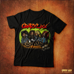 Crazy Lixx - New Religion - Black T-shirt