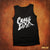 Crazy Lixx - Old School Logo - Black Tank Top