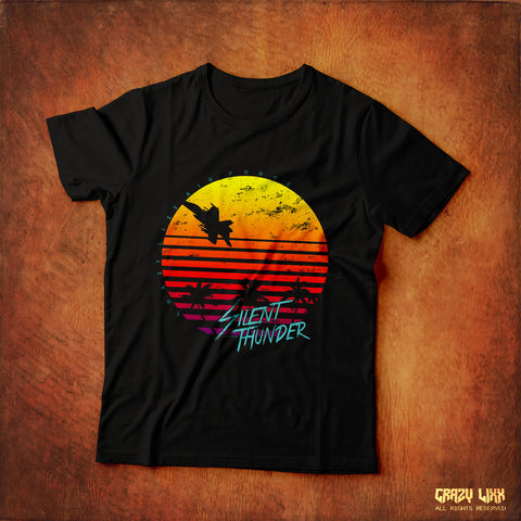 Silent Thunder - Black T-shirt