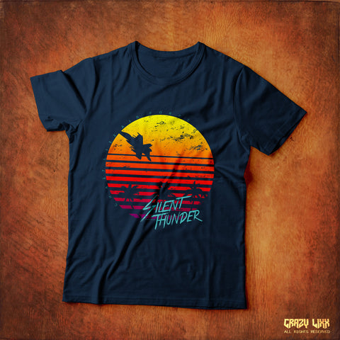 Silent Thunder - Navy Blue T-shirt