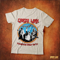 Crazy Lixx - Tourever Wild - White T-shirt