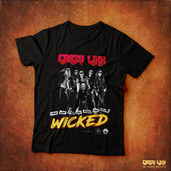Crazy Lixx - Wicked - Black T-shirt